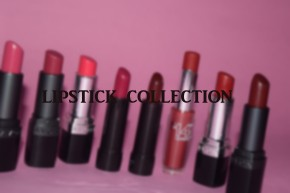 Reds and Pinks | Lipstick Collection