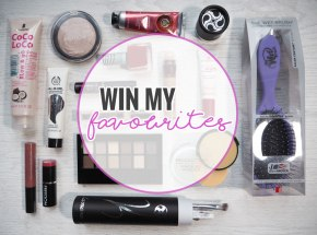 Win My Favourites Giveaway – Massive 2 Year Blogiversary